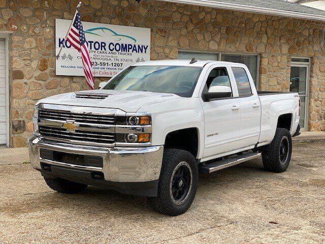 2017 Chevrolet Silverado 2500HD for sale at KC Motor Company in Chattanooga TN