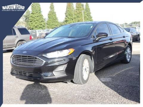 2019 Ford Fusion for sale at BARTOW FORD CO. in Bartow FL