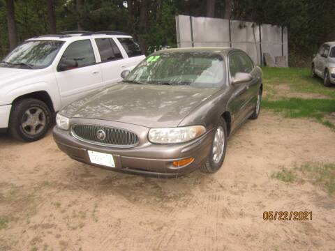 2002 Buick LeSabre for sale at SUNNYBROOK USED CARS in Menahga MN