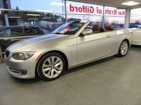 2013 BMW 3 Series for sale at Kar Kraft in Gilford NH