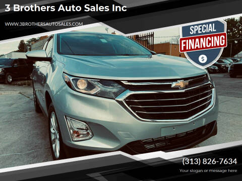 2020 Chevrolet Equinox for sale at 3 Brothers Auto Sales Inc in Detroit MI
