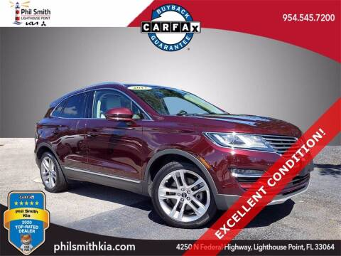 2017 Lincoln MKC for sale at PHIL SMITH AUTOMOTIVE GROUP - Phil Smith Kia in Lighthouse Point FL