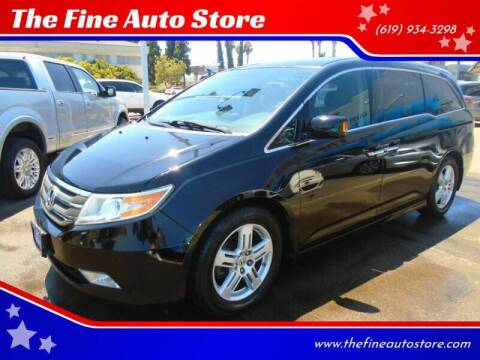 2013 Honda Odyssey for sale at The Fine Auto Store in Imperial Beach CA