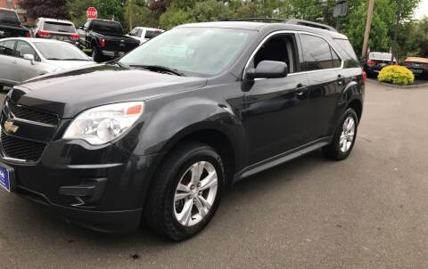 2013 Chevrolet Equinox for sale at J&E Auto Sales in Branford CT