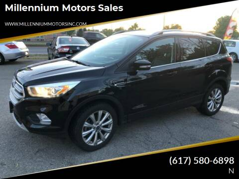 2017 Ford Escape for sale at Millennium Motors Sales in Revere MA
