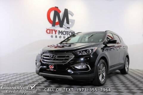 2017 Hyundai Santa Fe Sport for sale at City Motor Group, Inc. in Wanaque NJ