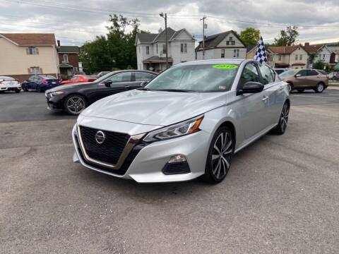2019 Nissan Altima for sale at Sisson Pre-Owned in Uniontown PA