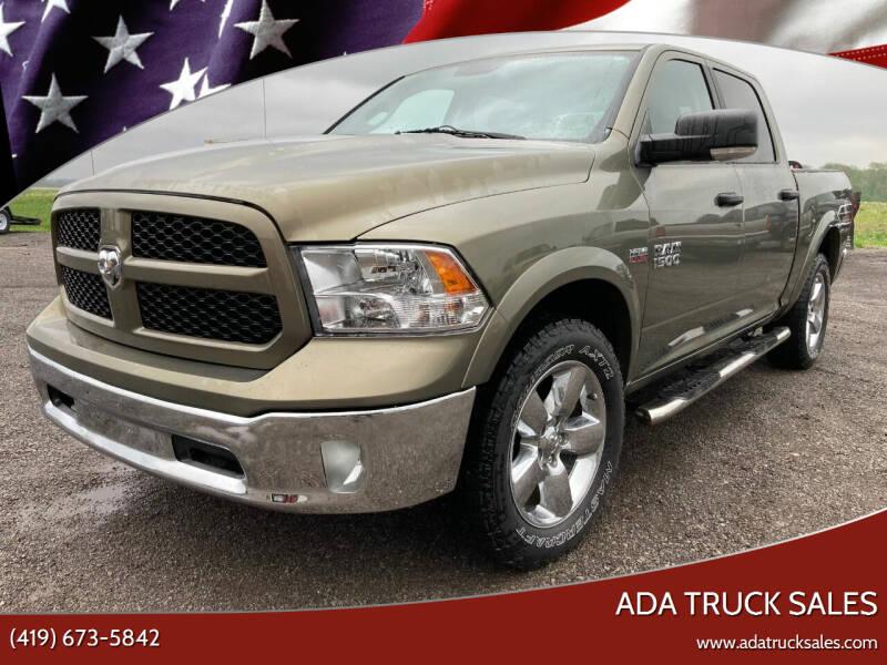 2014 RAM Ram Pickup 1500 for sale at Ada Truck Sales in Ada OH