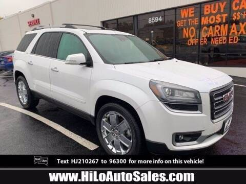 2017 GMC Acadia Limited for sale at Hi-Lo Auto Sales in Frederick MD