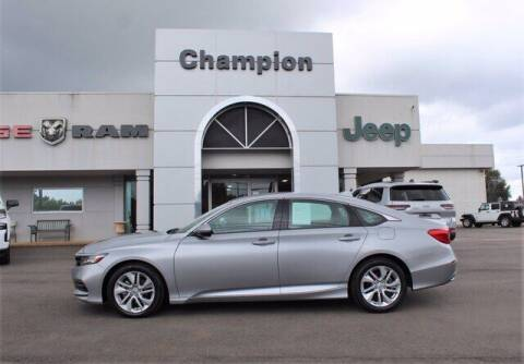 2019 Honda Accord for sale at Champion Chevrolet in Athens AL