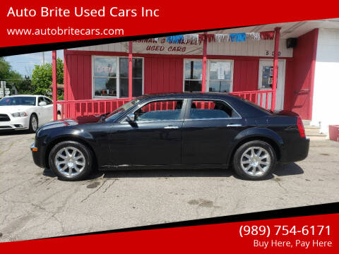 2009 Chrysler 300 for sale at Auto Brite Used Cars Inc in Saginaw MI