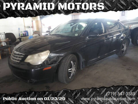 2007 Chrysler Sebring for sale at PYRAMID MOTORS - Pueblo Lot in Pueblo CO