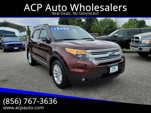 2012 Ford Explorer for sale at ACP Auto Wholesalers in Berlin NJ