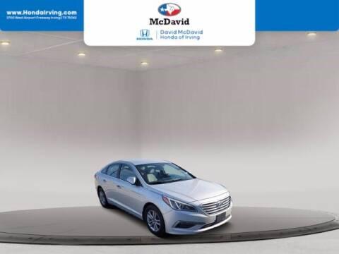 2015 Hyundai Sonata for sale at DAVID McDAVID HONDA OF IRVING in Irving TX