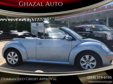 2010 Volkswagen New Beetle for sale at Ghazal Auto in Sturgis MI