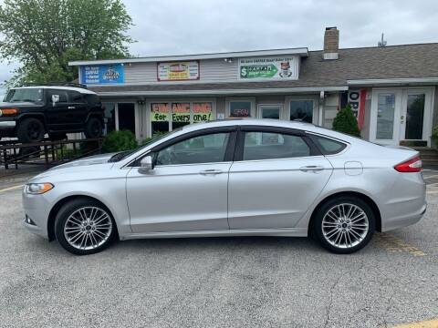 2015 Ford Fusion for sale at Revolution Motors LLC in Wentzville MO