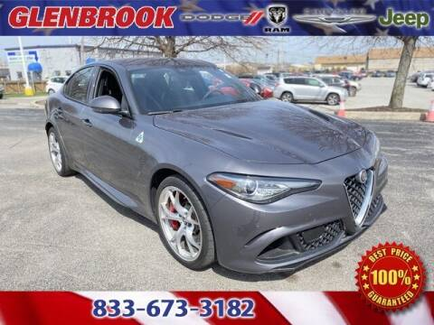 2018 Alfa Romeo Giulia Quadrifoglio for sale at Glenbrook Dodge Chrysler Jeep Ram and Fiat in Fort Wayne IN