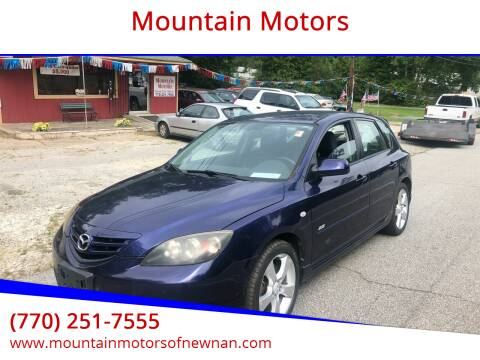 2006 Mazda MAZDA3 for sale at Mountain Motors in Newnan GA