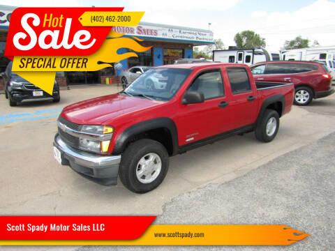 2005 Chevrolet Colorado for sale at Scott Spady Motor Sales LLC in Hastings NE