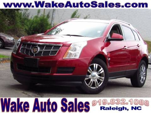 2012 Cadillac SRX for sale at Wake Auto Sales Inc in Raleigh NC