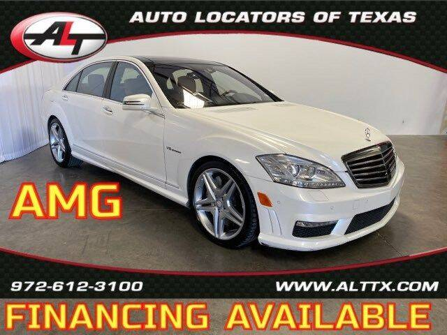 2012 Mercedes-Benz S-Class for sale at AUTO LOCATORS OF TEXAS in Plano TX