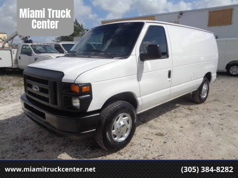 2013 Ford E-250 for sale at Miami Truck Center in Hialeah FL