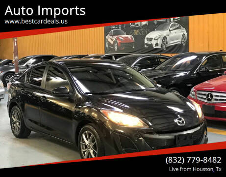 2011 Mazda MAZDA3 for sale at Auto Imports in Houston TX