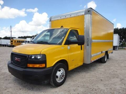 2019 GMC Savana Cutaway for sale at Regio Truck Sales in Houston TX