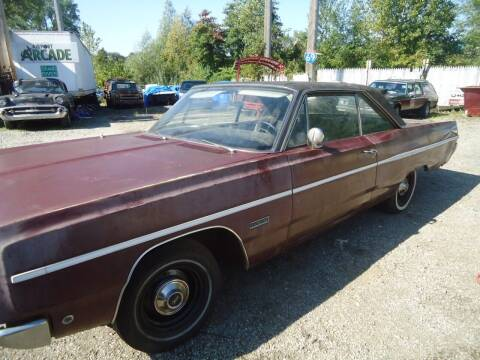 1968 Plymouth Fury for sale at Marshall Motors Classics in Jackson Michigan MI