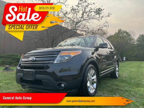 2014 Ford Explorer for sale at General Auto Group in Irvington NJ