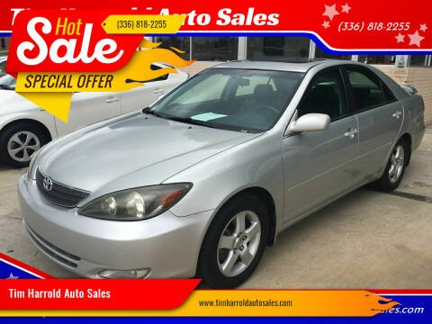 2002 Toyota Camry for sale at Tim Harrold Auto Sales in Wilkesboro NC