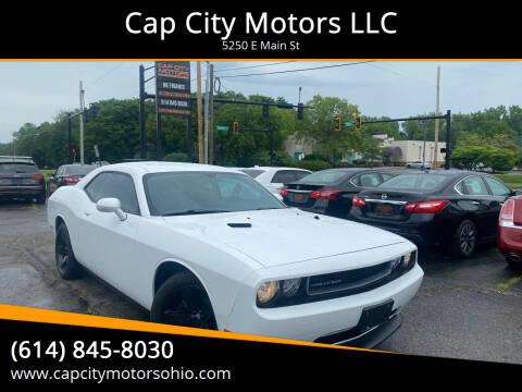 2014 Dodge Challenger for sale at Cap City Motors LLC in Columbus OH