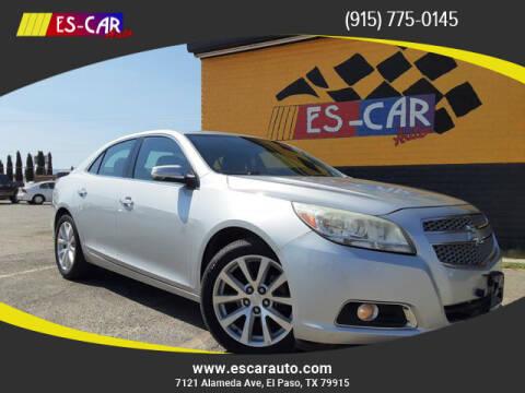 2013 Chevrolet Malibu for sale at Escar Auto - 9809 Montana Ave Lot in El Paso TX