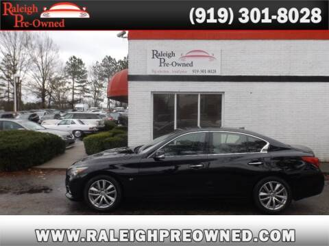2014 Infiniti Q50 for sale at Raleigh Pre-Owned in Raleigh NC