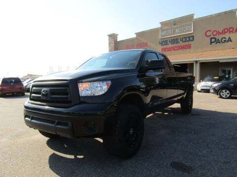 2013 Toyota Tundra for sale at Import Motors in Bethany OK
