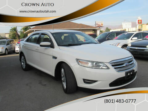 2011 Ford Taurus for sale at Crown Auto in South Salt Lake City UT