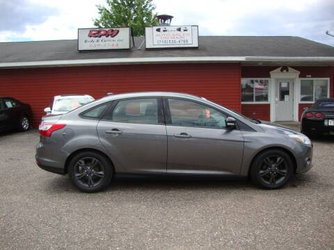 2014 Ford Focus for sale at G and G AUTO SALES in Merrill WI