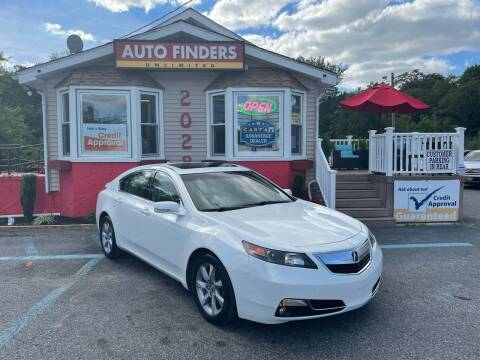 2012 Acura TL for sale at Auto Finders Unlimited LLC in Vineland NJ
