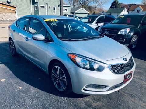 2014 Kia Forte for sale at SHEFFIELD MOTORS INC in Kenosha WI