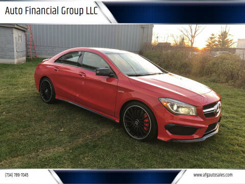 2014 Mercedes-Benz CLA for sale at Auto Financial Group LLC in Flat Rock MI