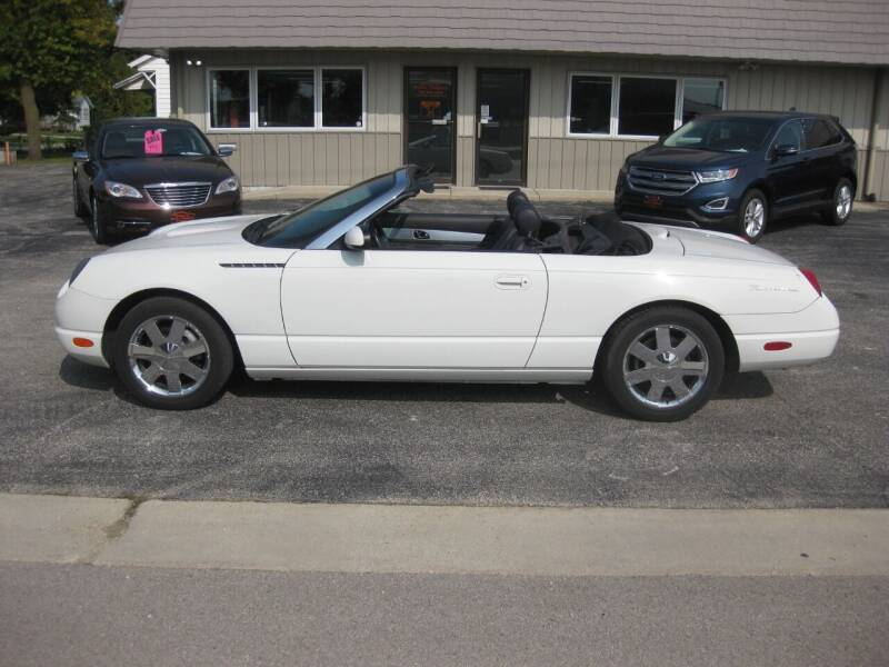 2002 Ford Thunderbird for sale at Greens Motor Company in Forreston IL