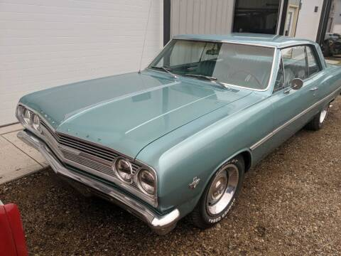 1965 Chevrolet Chevelle Malibu for sale at CRUZ'N MOTORS - Classics in Spirit Lake IA