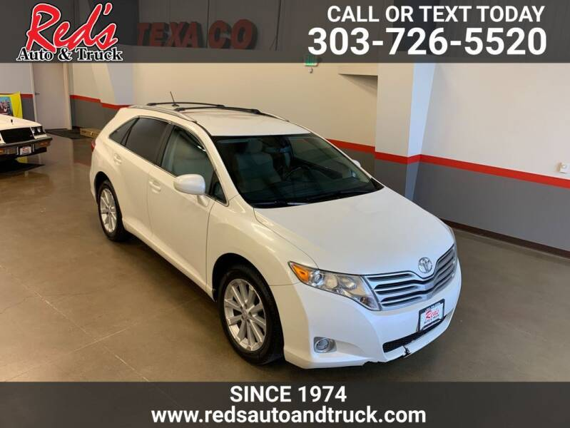 2009 Toyota Venza for sale at Red's Auto and Truck in Longmont CO