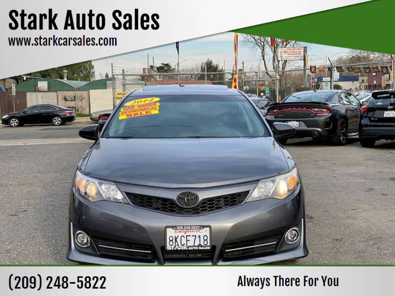 2014 Toyota Camry for sale at Stark Auto Sales in Modesto CA