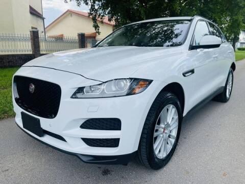 2018 Jaguar F-PACE for sale at Imperial Capital Cars Inc in Miramar FL