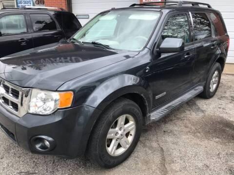2008 Ford Escape Hybrid for sale at 10th Ward Auto Sales, Inc in Chicago IL