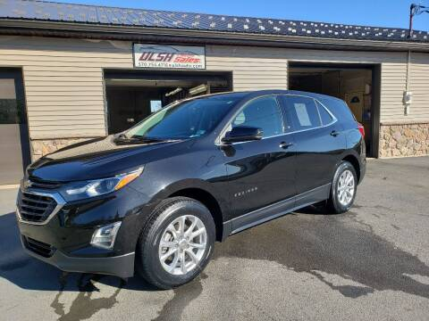 2018 Chevrolet Equinox for sale at Ulsh Auto Sales Inc. in Summit Station PA