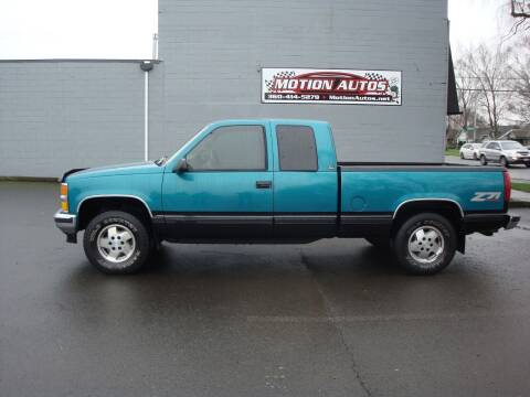 1995 Chevrolet C/K 1500 Series for sale at Motion Autos in Longview WA