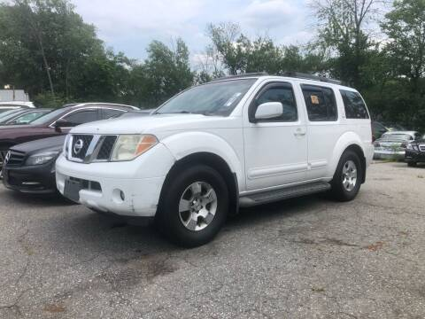 2006 Nissan Pathfinder for sale at Top Line Import of Methuen in Methuen MA