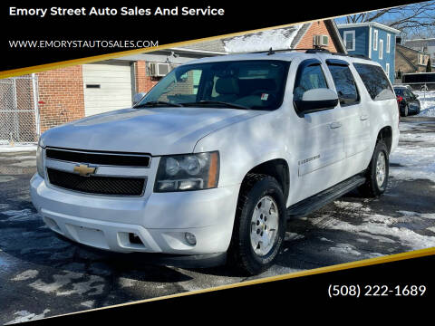 2007 Chevrolet Suburban for sale at Emory Street Auto Sales and Service in Attleboro MA